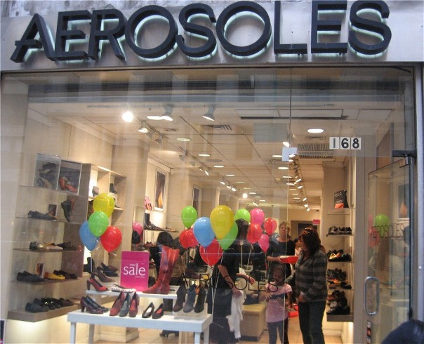 Aerosoles-in-Store-HIV-Event