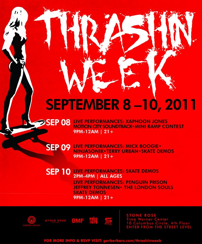 thrashing week