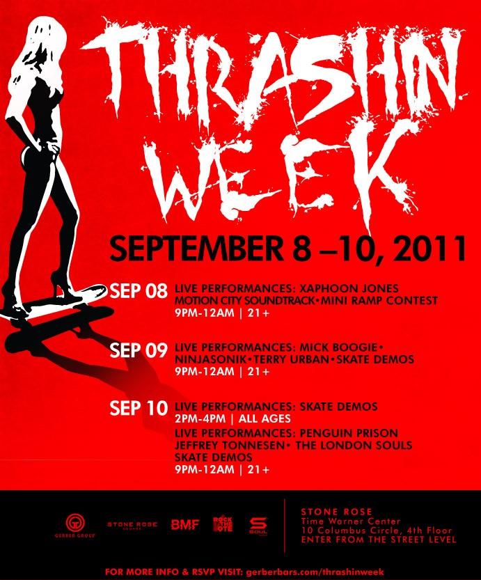 thrashing week