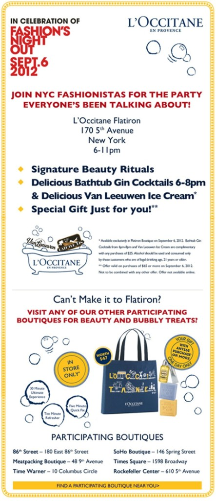 L'Occitane Beauty & Bubbly Treats