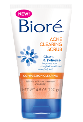 Biore Acne Clearing Scrub | Say Goodbye to Acne | My Life on and off the Guest List