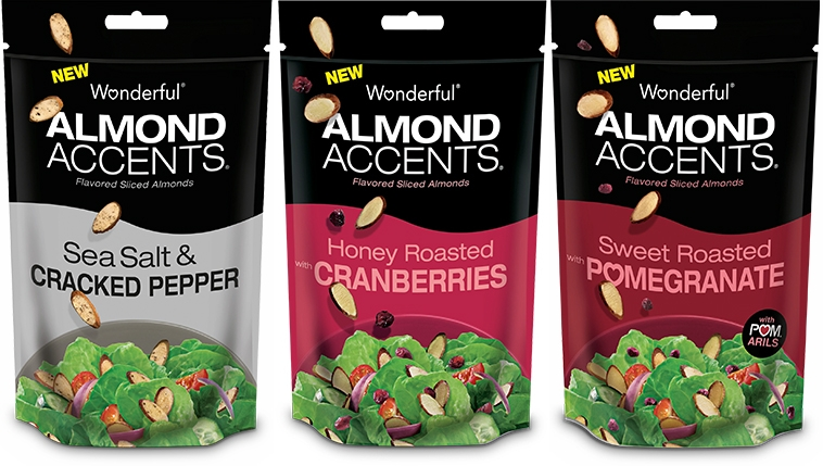 wonderful brands almonds