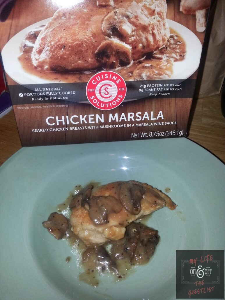 cuisine solutions chicken marsala