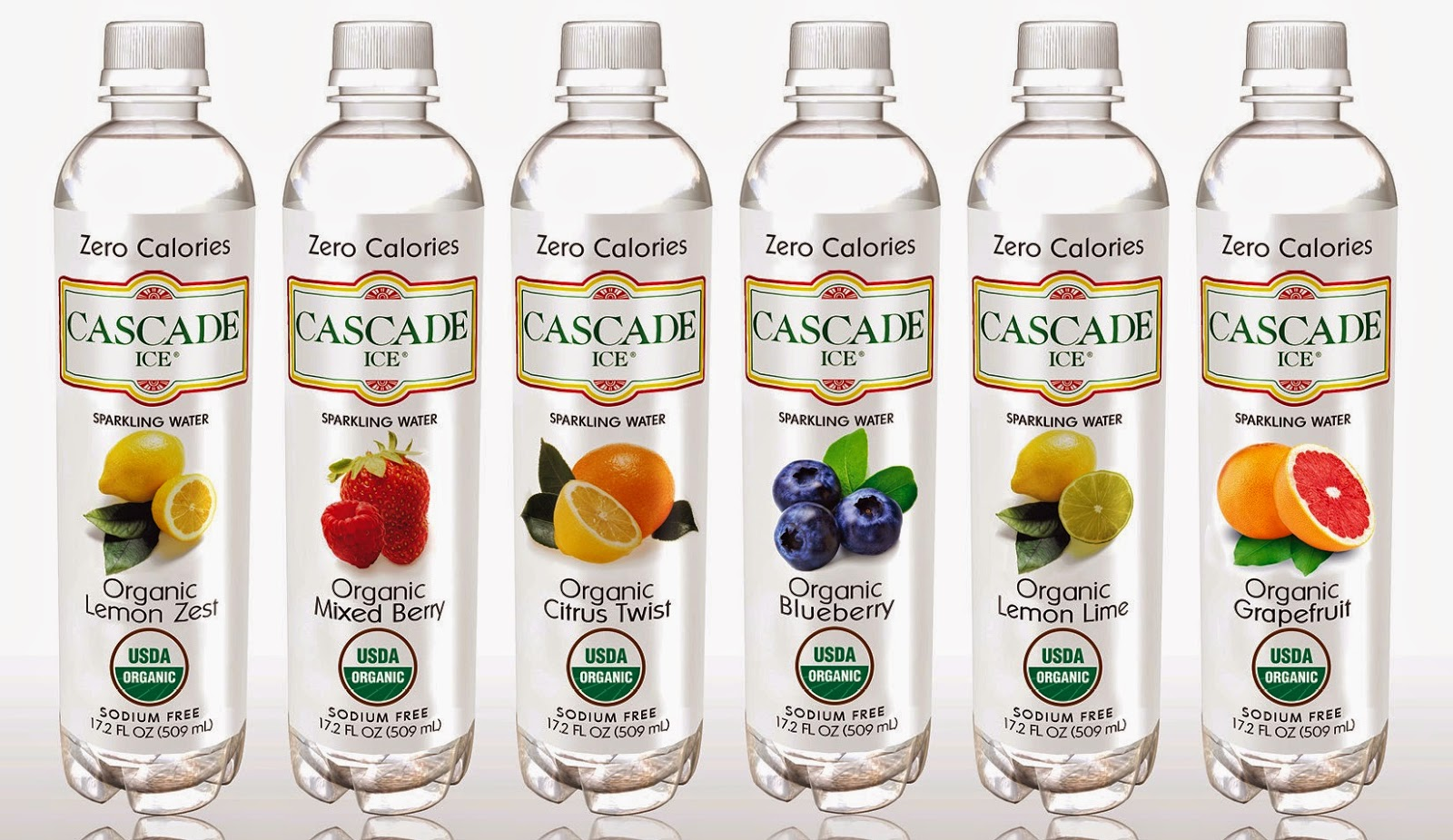 Healthy Hydration w/ Cascade Ice Organic Sparkling Flavored Waters ...