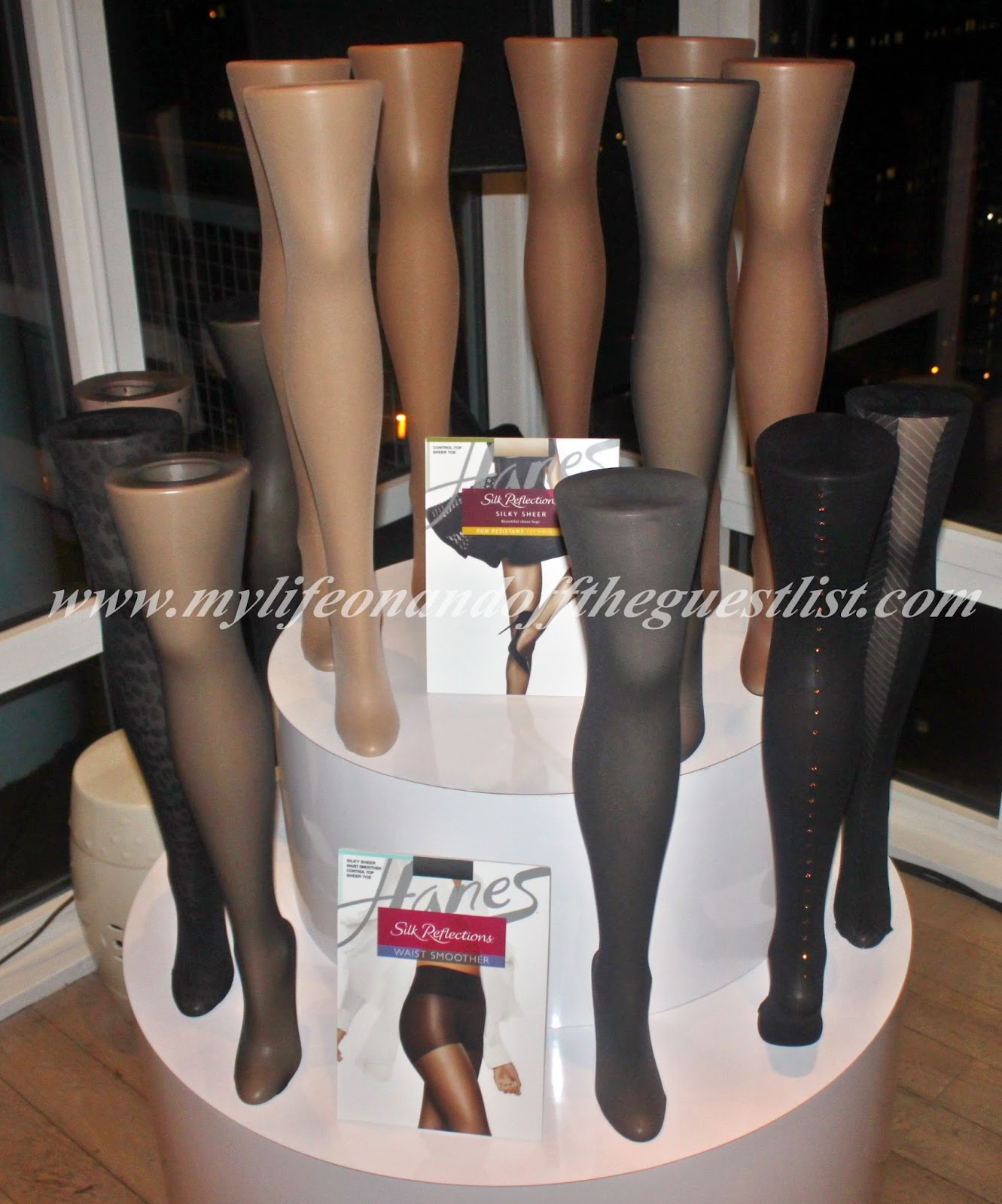 c6b016214f6d4 Hanes Hosiery Celebrates 75th Anniversary of Nylon Stockings & New Silk  Reflections Collections