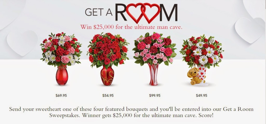 Teleflora-Get-A-Room-sweepstakes-www.mylifeonandofftheguestlist.com