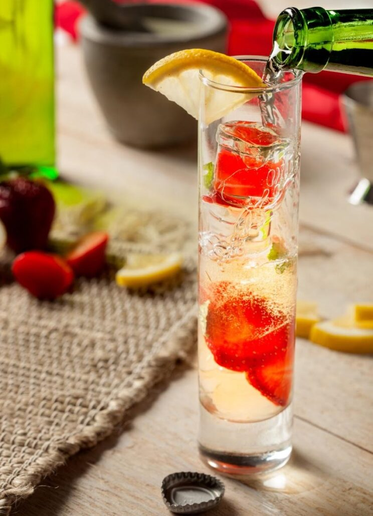 Cruzan® Brew Berry Mojito