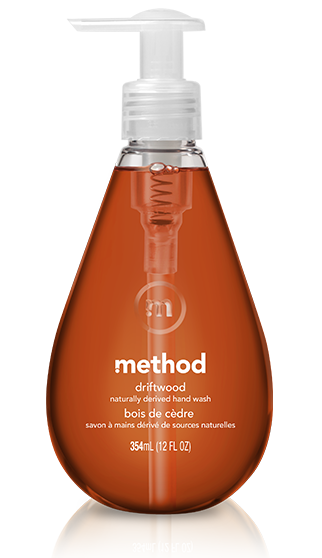method Driftwood gel hand wash