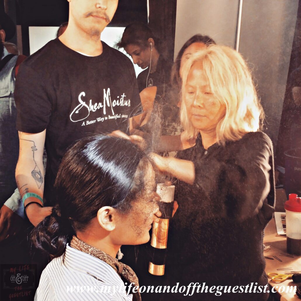 Bok-Hee_SheaMoisture_Backstage_at_Tracy_Reese_Spring_2016_Collection3_www.mylifeonandofftheguestlist.com
