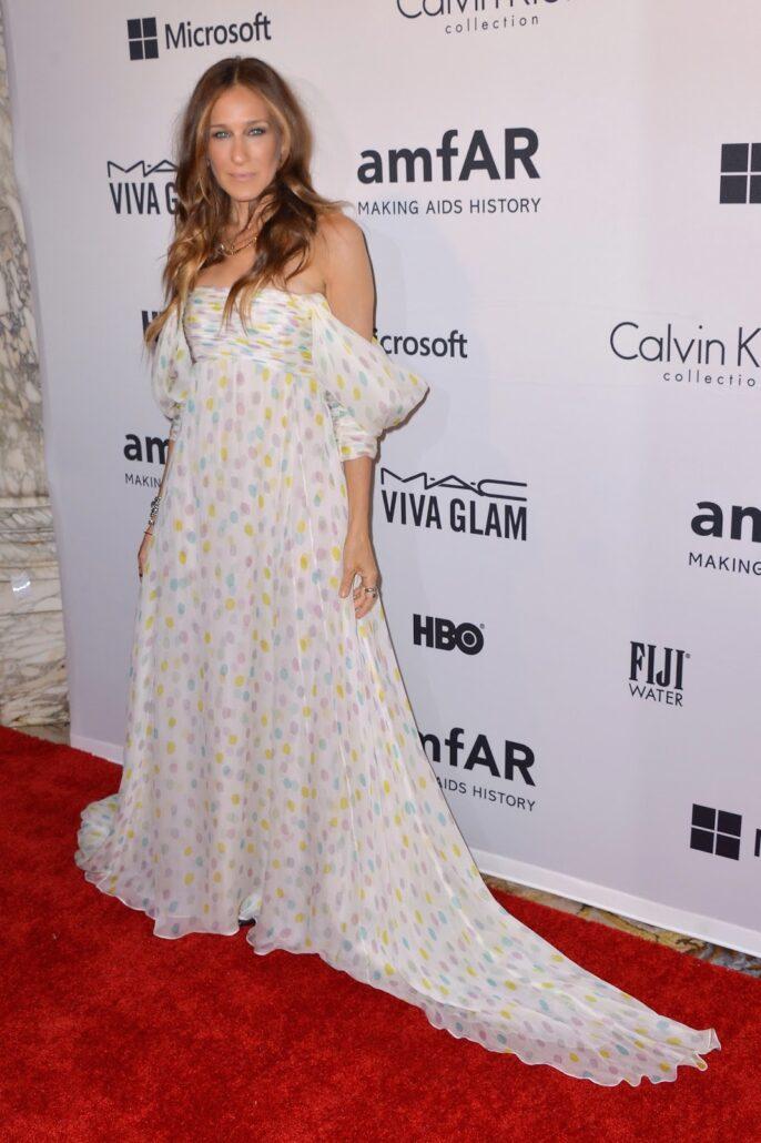 HD Sarah Jessica Parker in Schiaparelli Haute Couture 10th of June