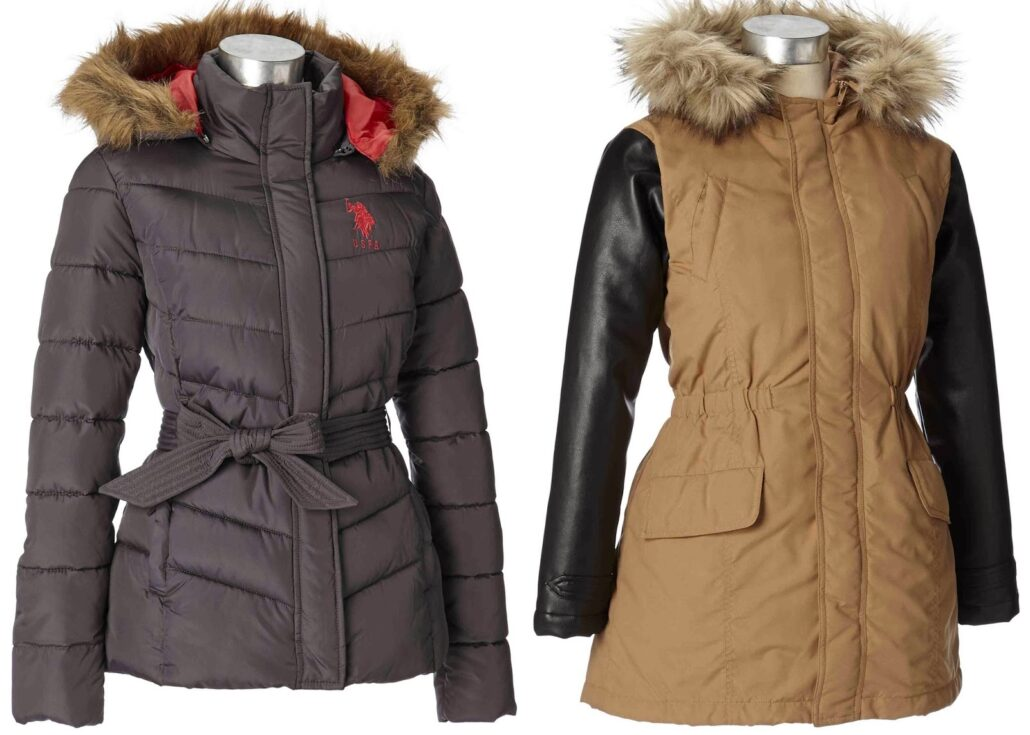 burlington quilted coats