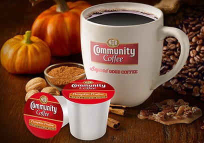 Community Coffee Pumkin Praline