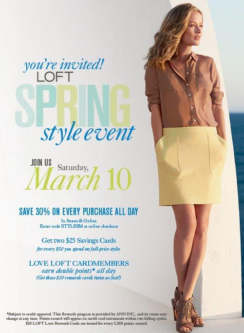 LOFT Spring Event