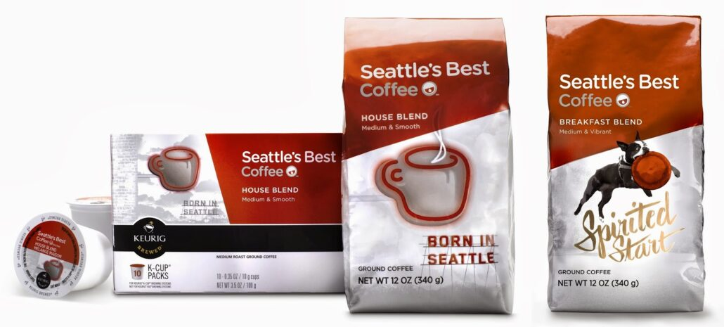 Seattle's best Coffee new launches