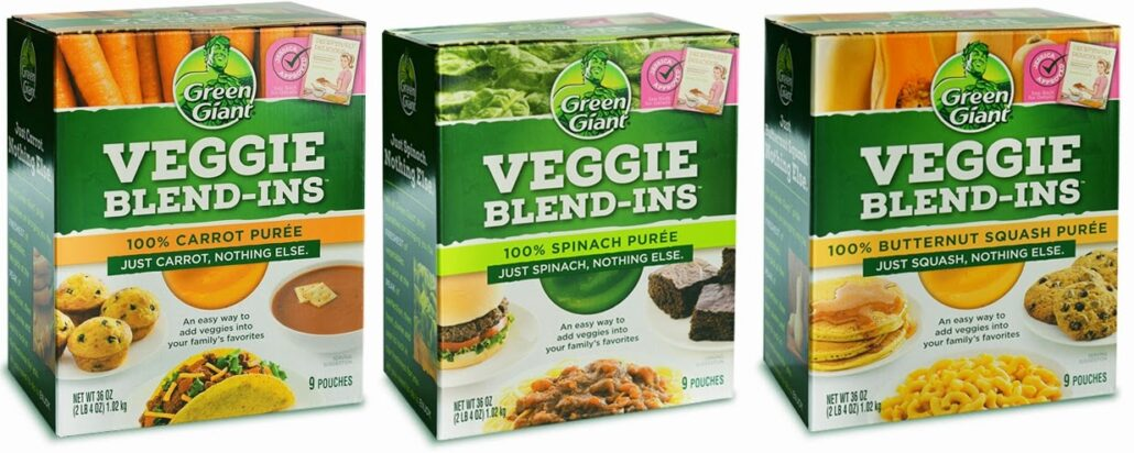 green giant veggie blends-ins