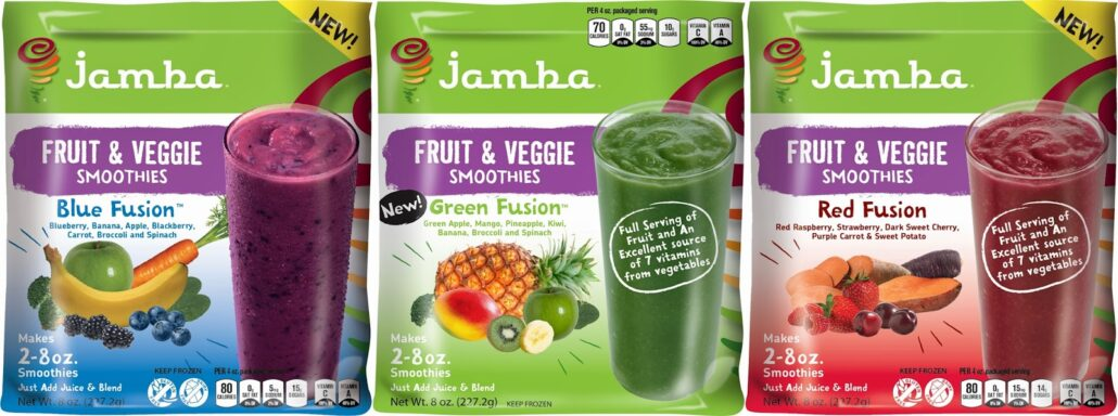 jamba fruit and veggie smoothies