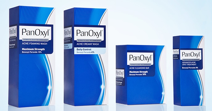 PanOxy Acne products