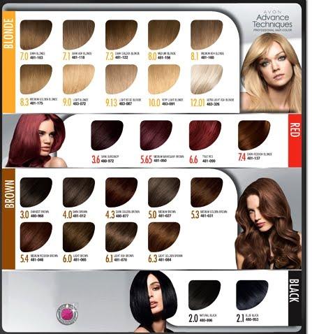 Avon Launches Advance Techniques Professional Hair Color ...