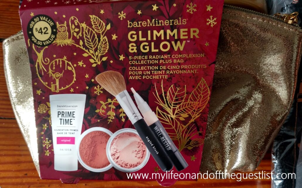 bareMinerals_Glimmer_and_Glow_5_Piece_Radiant_Complexion_Collection_with_Bag_www.mylifeonandofftheguestlist.com