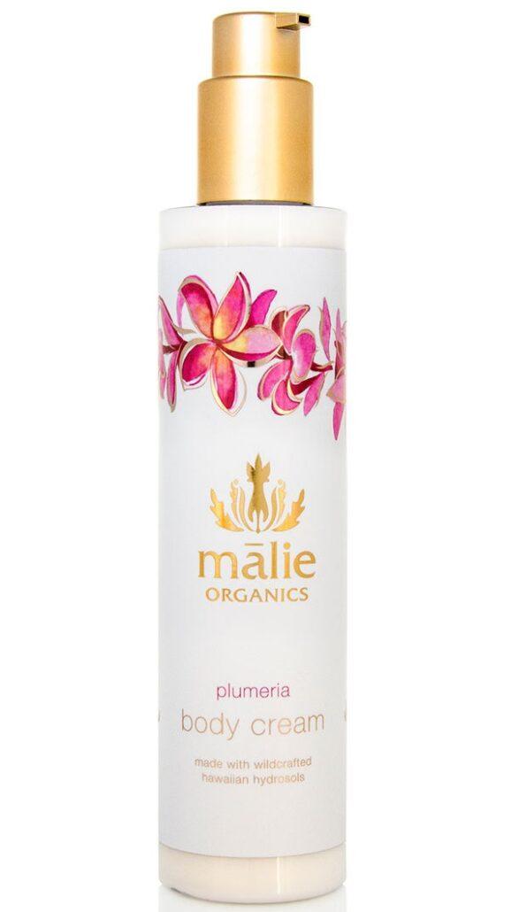 malie organics plumeria body cream