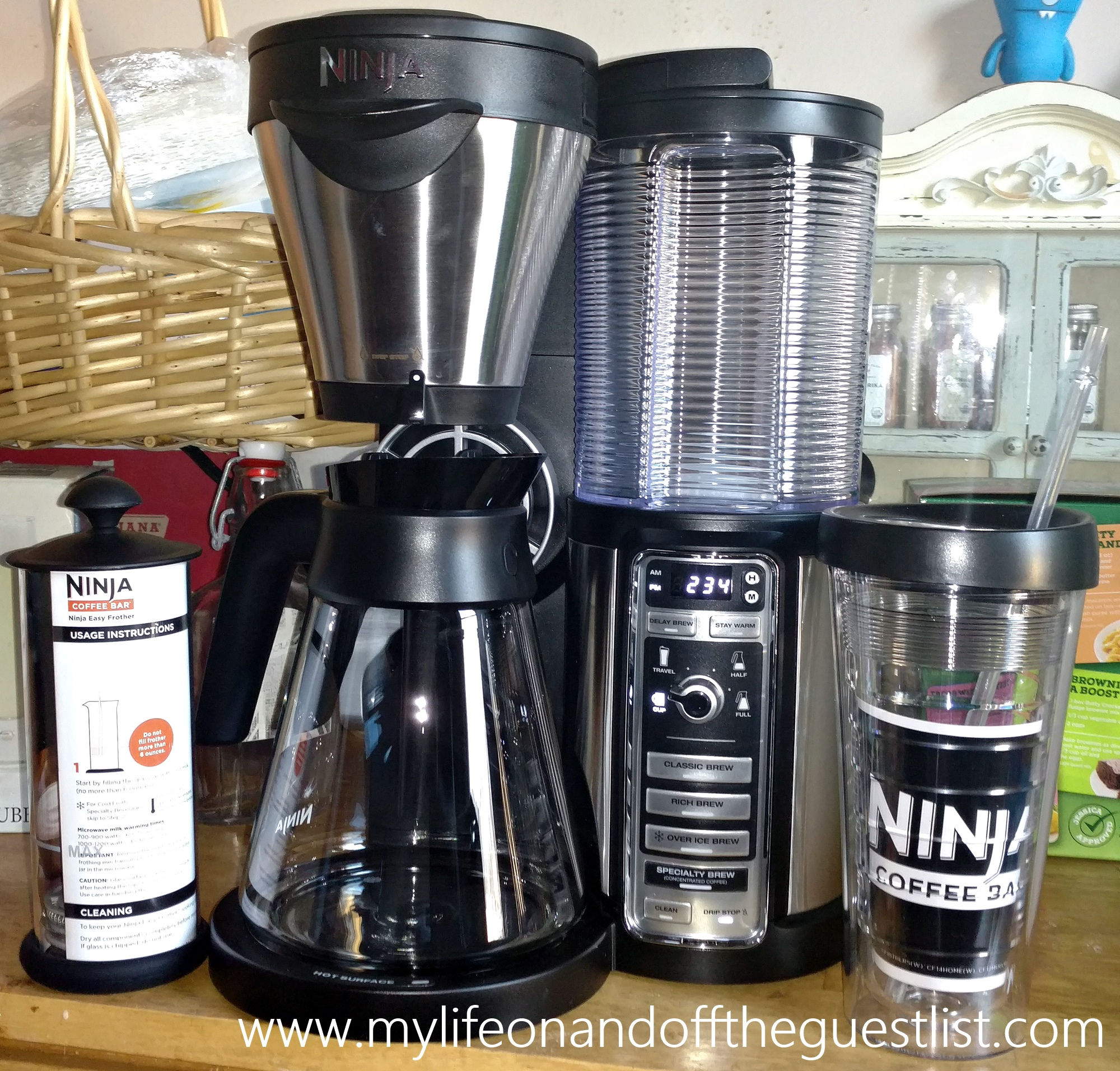 Kitchen Coffee Bar Ninja Coffee Bar Brewer The Brew Master My Life On And Off The
