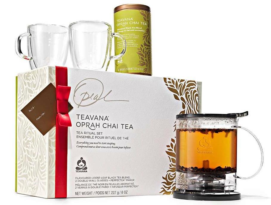 Teavana® Oprah Chai Tea Ritual Set2
