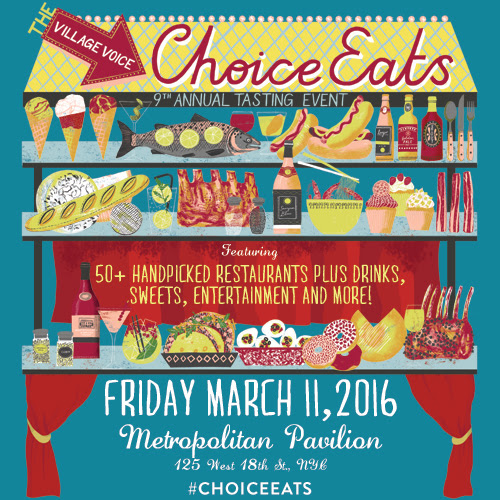 Village Voice Announces 9th Annual 'Choice Eats' Tasting Event