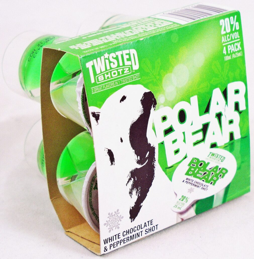 polar bear twisted shotz
