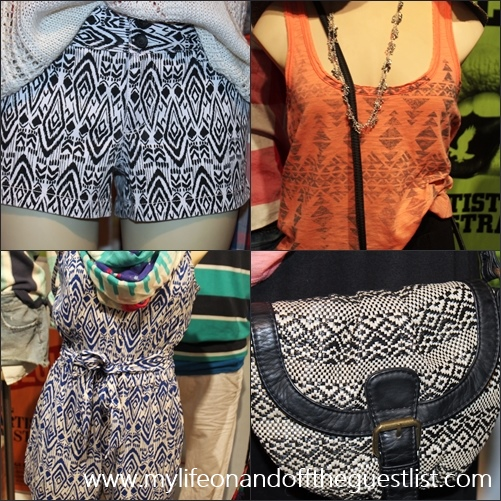 American Eagle Summer 2012 Collection Ikat