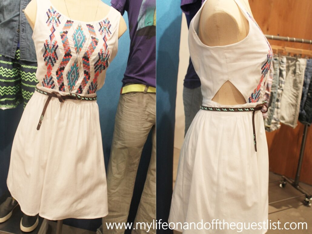 American Eagle Summer 2013 Collection white dress