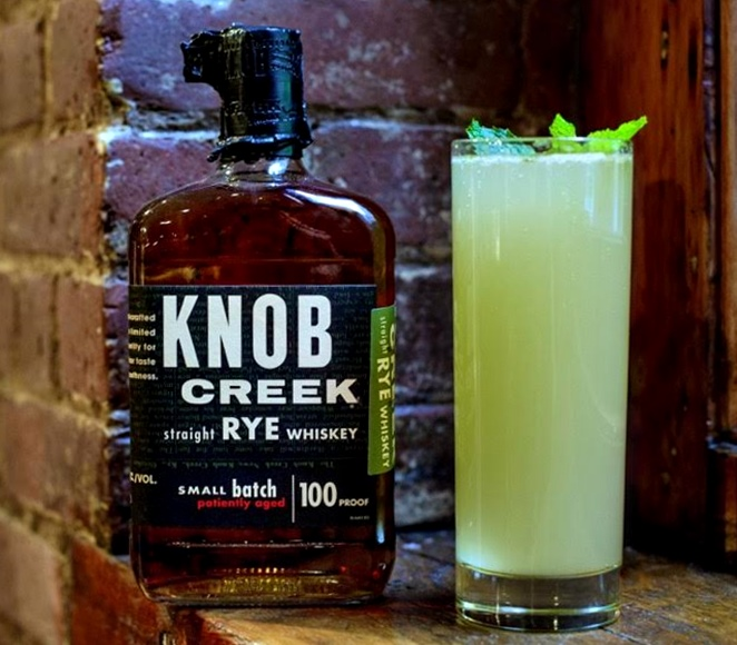 KNOB CREEK® MINT GINGER OLD FASHIONED