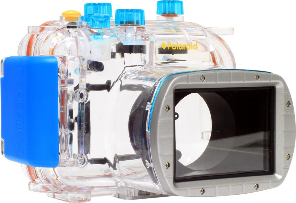 Polaroid Underwater Camera Housing Case