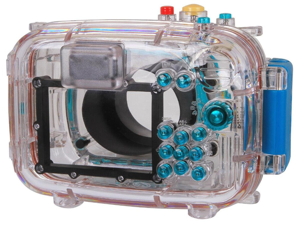Polaroid Underwater Camera Housing Case back