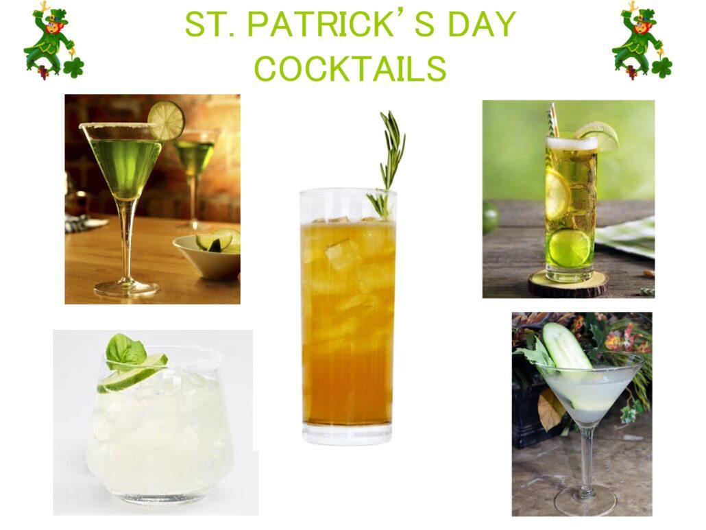 ST. PATRICK'S DAY COCKTAILS-www.mylifeonandofftheguestlist.com