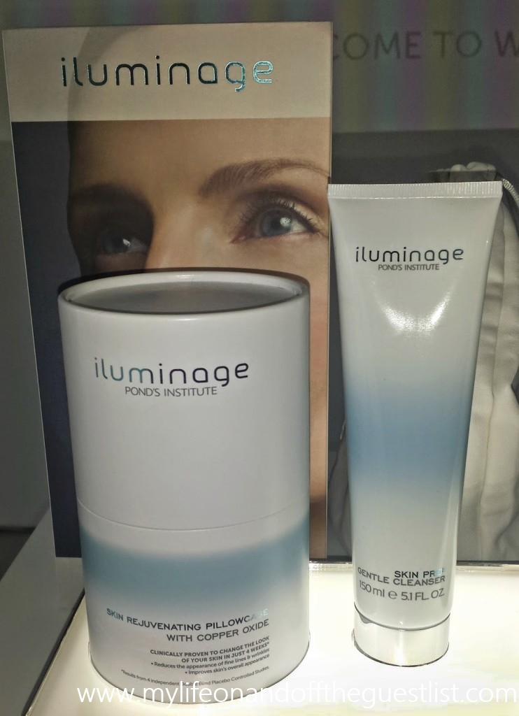 iluminage Skin Rejuvenating Pillowcase and Gentle Cleanser