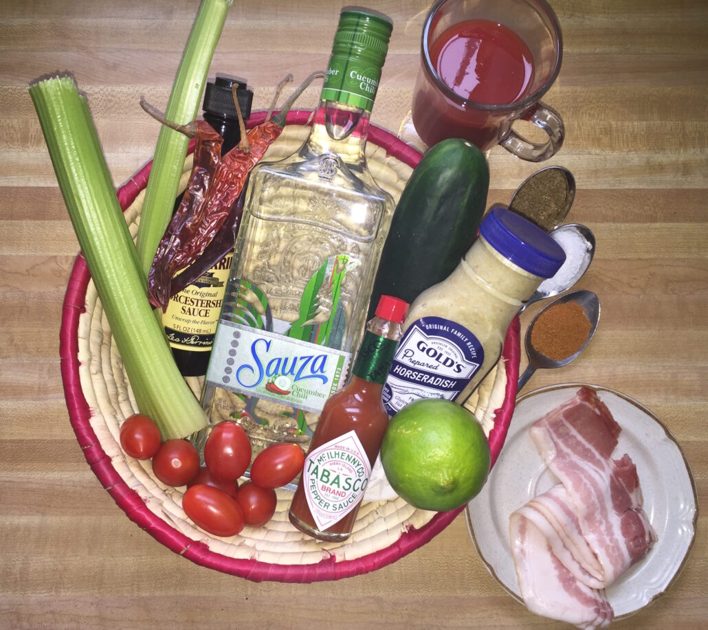 Bloody Maria's Blushing ingredients
