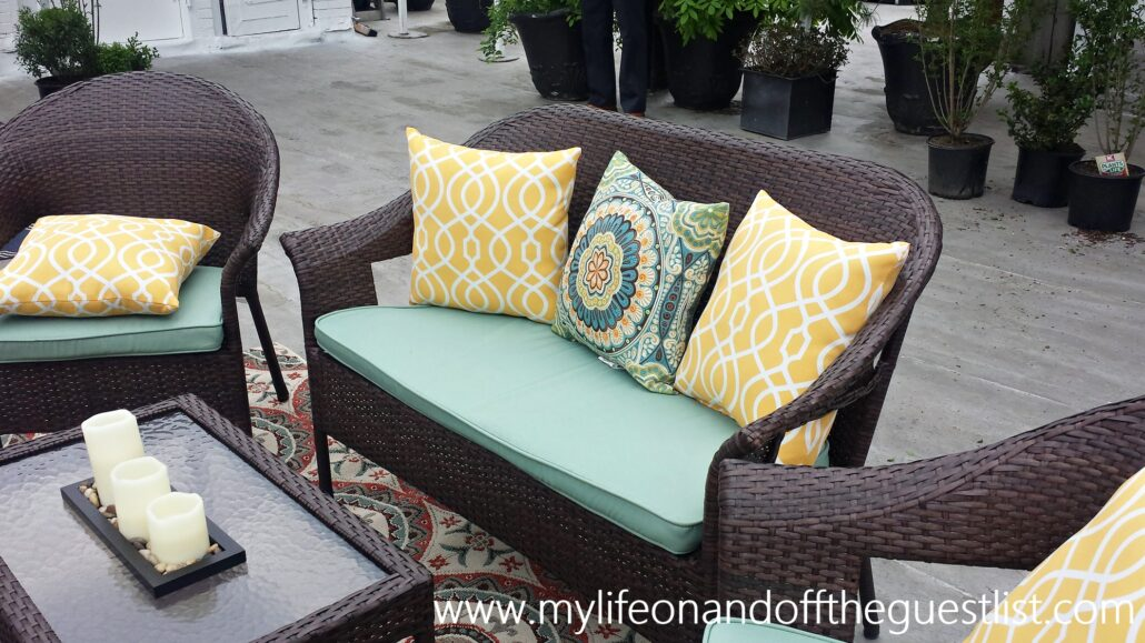 Enhance your outdoor space with patio furniture from kmart for Outdoor furniture kmart