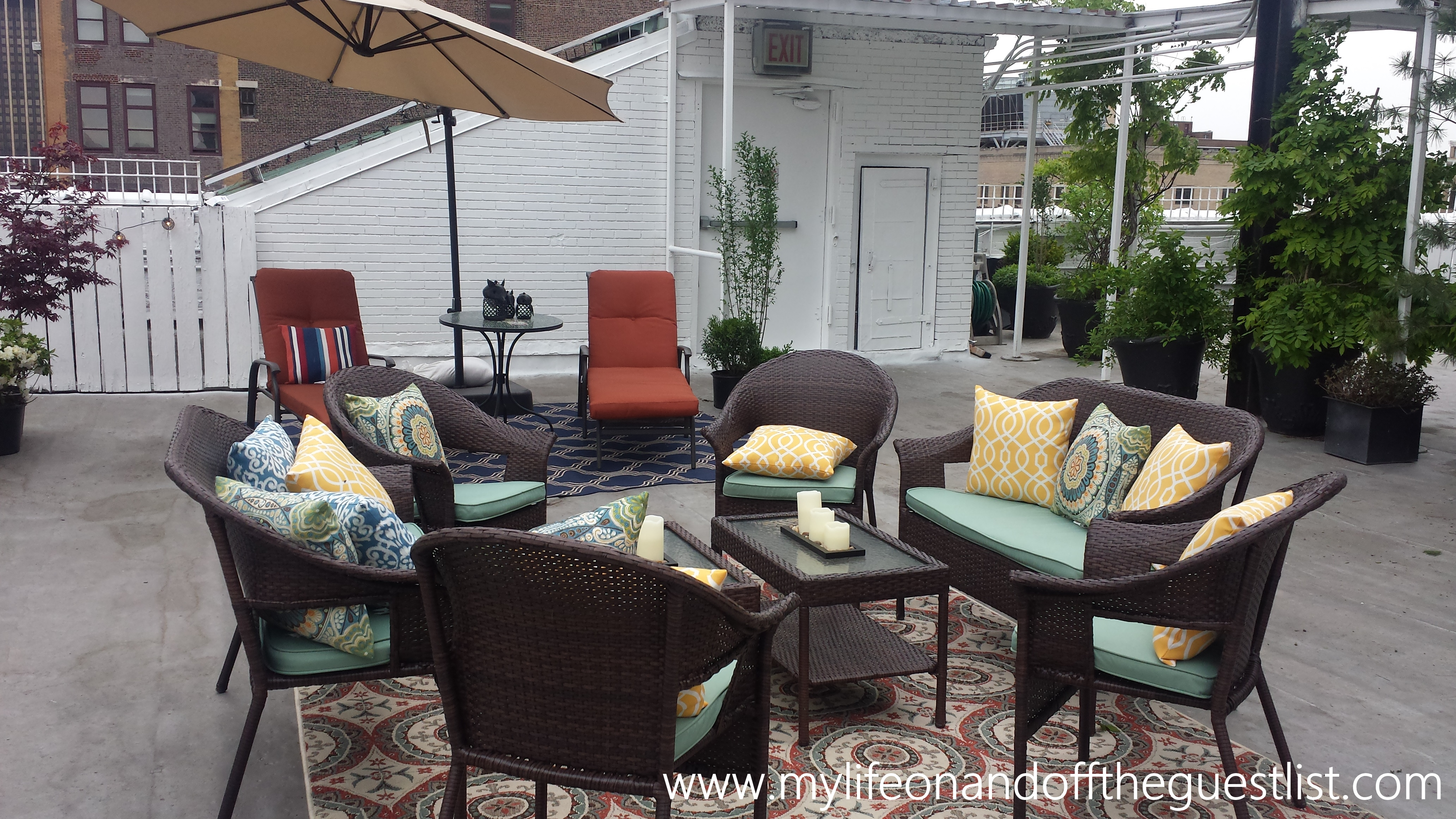 Jaclyn Smith Dining Room Furniture Enhance Your Outdoor Space With Patio Furniture From Kmart