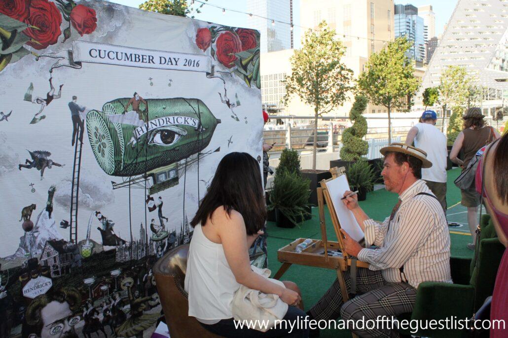 Hendricks_Gin_Cucumber_Festival_of_Wonder_Artist_www.mylifeonandofftheguestlist.com