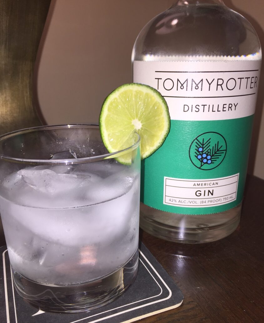 Tommy Rotter Distillery Gin classic G & T
