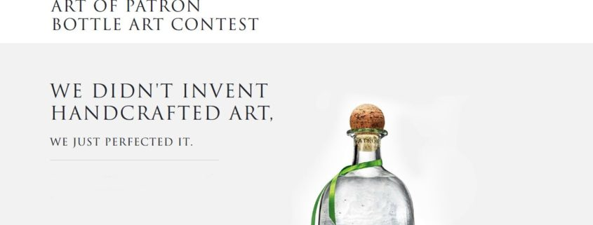 Art of Patron Bottle Art Contest