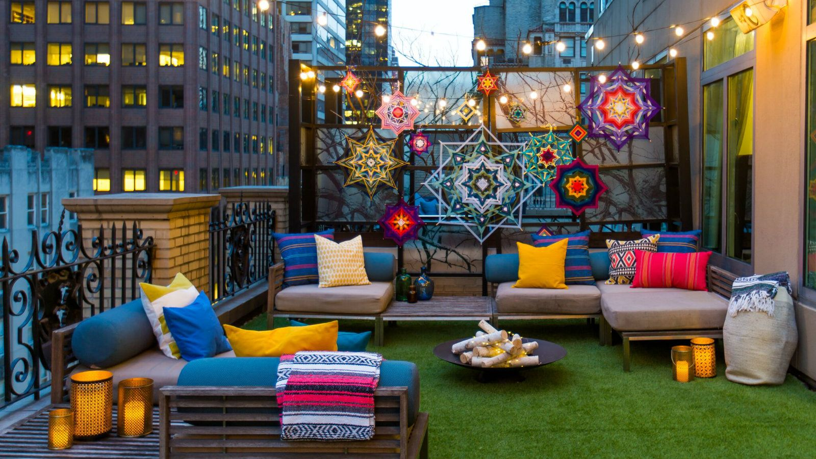 & Urban Oasis: W New York\u0027s Extreme Wow Outdoor Glamping Suite
