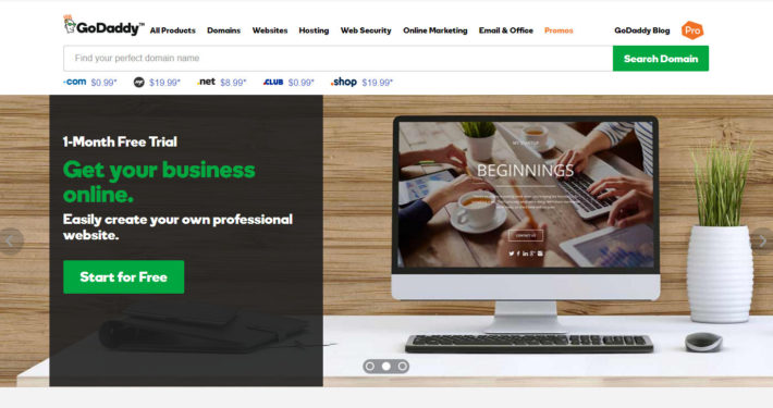 godaddy-website