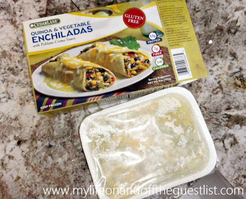 cedarlane_natural_foods_quinoa_and_vegetable_enchiladas_www-mylifeonandofftheguestlist-com