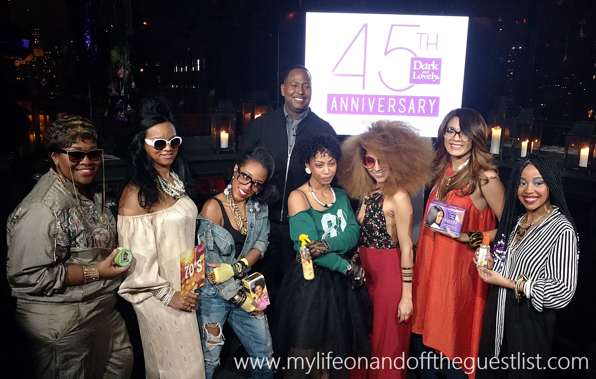 Celebrating 45 Years Of Dark And Lovely Hair Care For Women Of Color