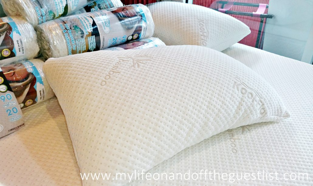 the bamboo memory foam pillow developed by dr rick swartzburg dc is one of four products that help you enjoy a mattress