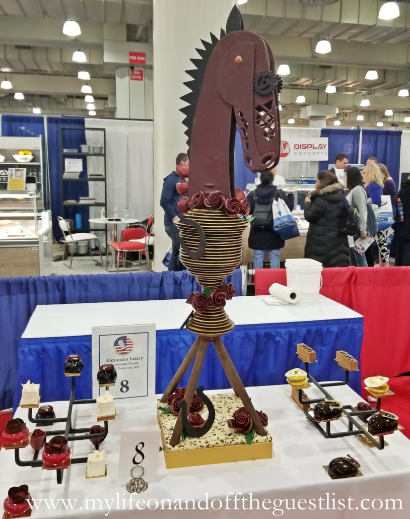 Honorable Mention Winner of the 29th U.S. Pastry Competition