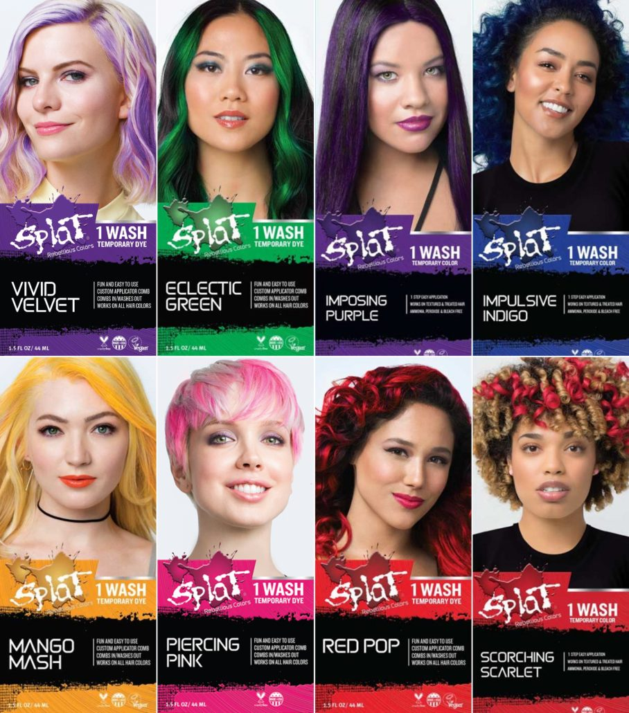 GIVEAWAY: Splat Hair Color 1 Wash Temporary Hair Dye