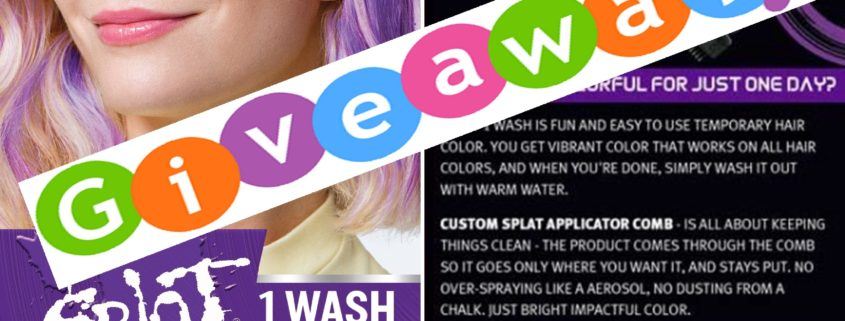 Giveaway splat hair color 1 wash temporary hair dye solutioingenieria Gallery