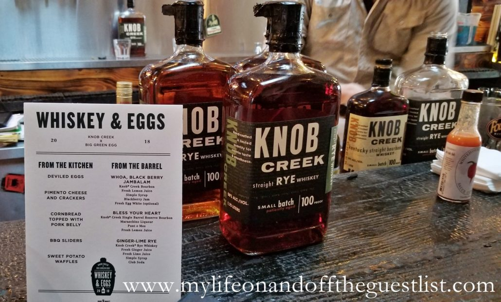 Intimate Tasting + Dinner with Knob Creek Bourbon